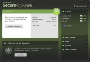 Webroot Secure Anywhere (Managed)